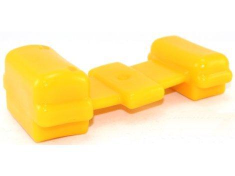 Подушка ресори Уаз поліуретан жовтий COMFORT CS-20
