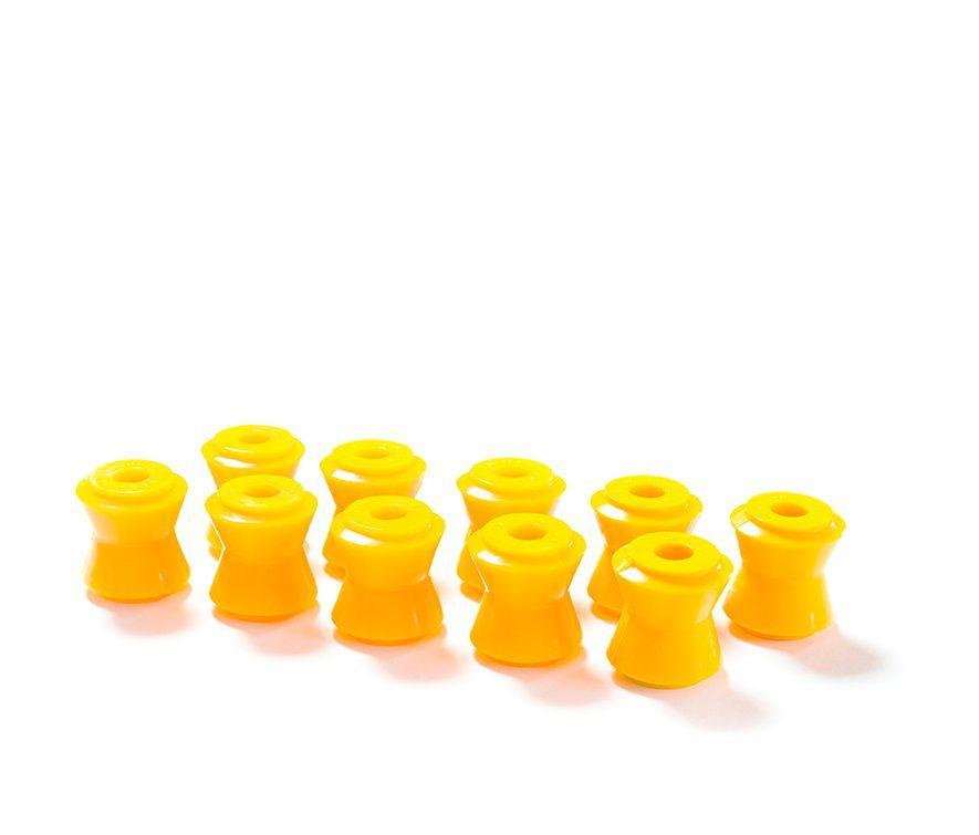 Полиуретановые втулки реактивных тяг 2101/2121/2123 Шеви (10шт) желтый comfort CS-20