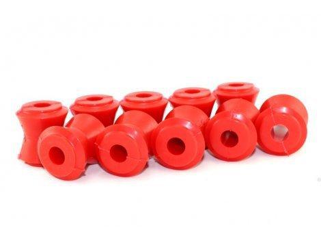 Поліуретанові втулки реактивних тяг 2101/2121/2123 Шеви (10шт) червоний drive CS-20