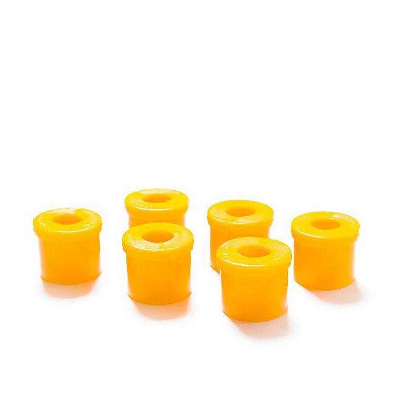 Втулки рессорные УАЗ 3160 полиуретан желтые (6шт) CS-20