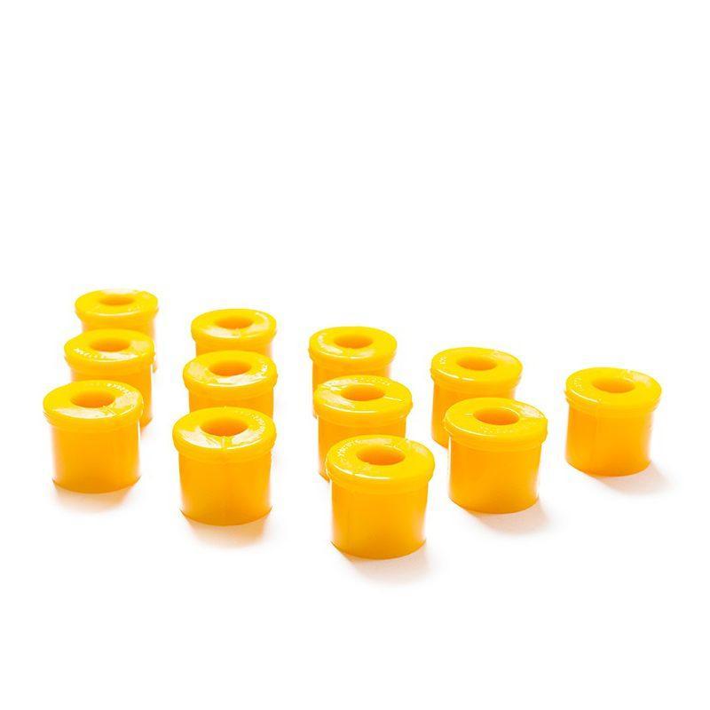 Втулки рессорные УАЗ 469 полиуретан желтый COMFORT (12шт) CS-20