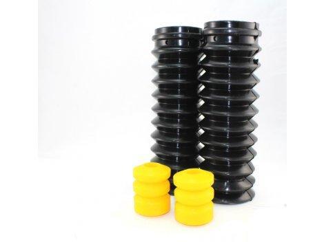 Полиуретановые отбойники задних стоек 2108/21082/2115 (2 отбойника + 2 пыльника 2108-2915681) желтый comfort