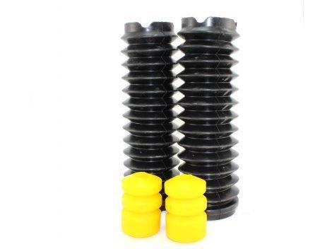 Поліуретанові відбійники задніх стійок 2110/2112/2190 (2 відбійника + 2 пильовика) жовтий comfort CS-20