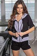 Женский костюм:кофта,шорты  (44-52), фото 1