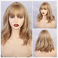 Парик блонд средней длины. Перука середня довжина блонд.