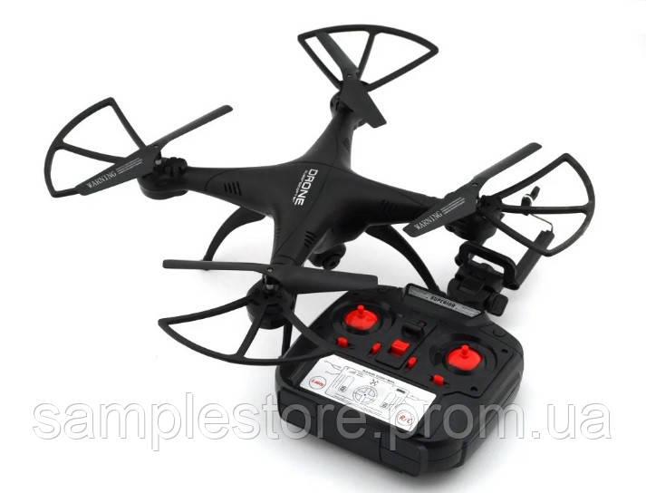 Квадрокоптер 1 000 000 (1million) c WiFi камерой, радиоуправляемый, черный