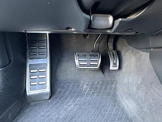 Педали Audi A4 B8 накладки стиль S4 RS4 (акпп)