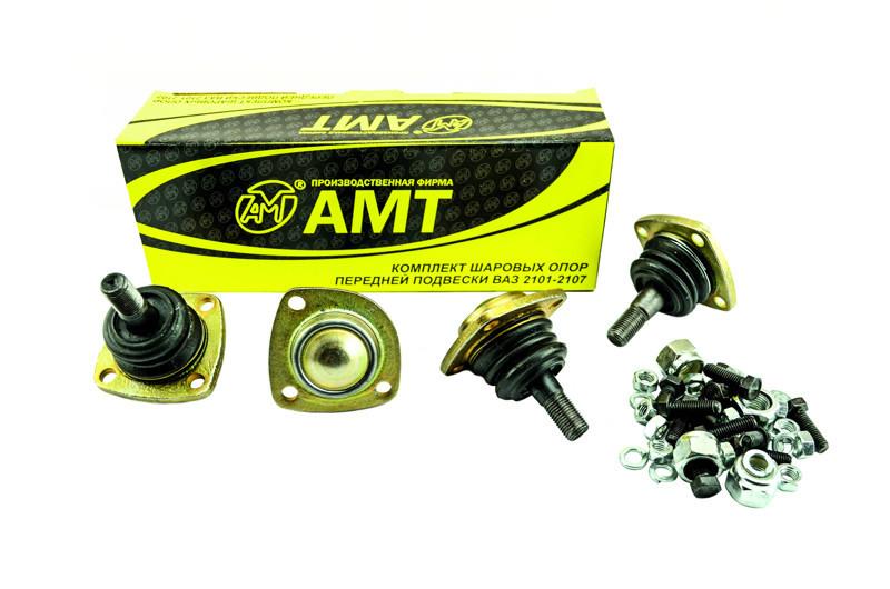 Комплект кульових опор 2101 (верхні 2 шт, нижні 2 шт) з метизами АМТ