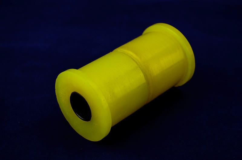 Втулка рессоры Газель-Бизнес,Валдай (2 полиур.втул + метал трубка) жёл.