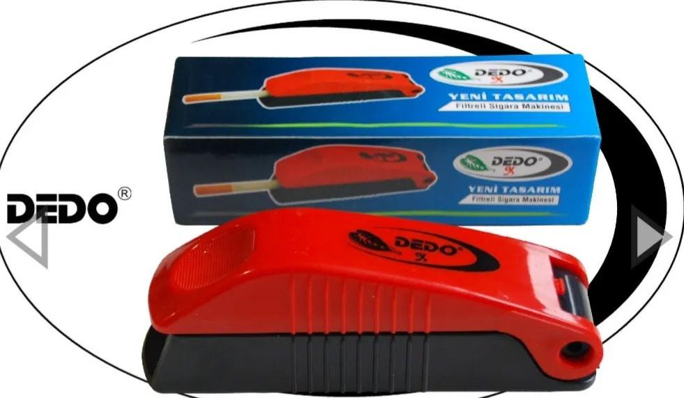 Машинка для набивки сигарет DEDO Красная