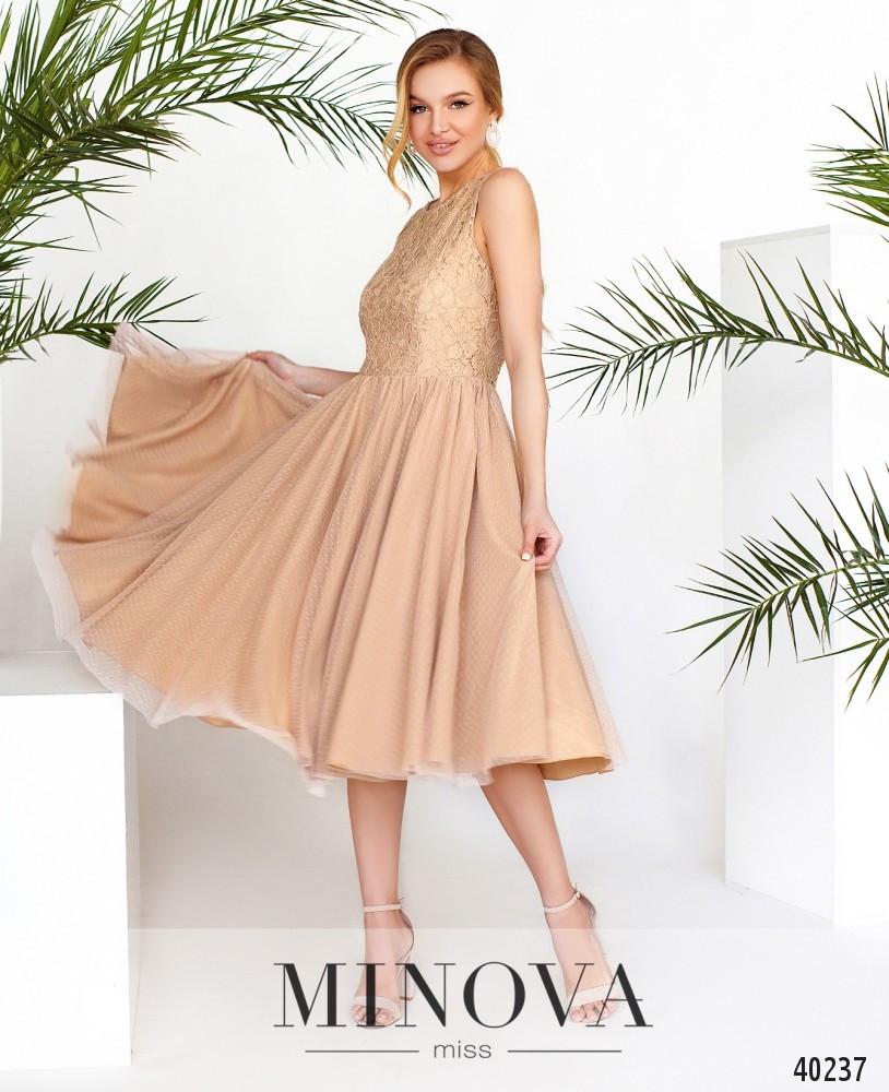 Шикарное платье с гипюром, размер от 42 до 48
