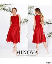 Шикарное платье с гипюром, размер от 42 до 48, фото 3