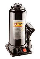 Домкрат гідравлічний пляшковий 5т, 215-445мм, TOPEX 97X035