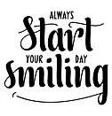 Наклейка на стену Улыбнись (smiling, позитив), фото 3