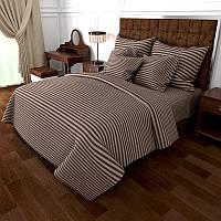 Двуспальный комплект постельного белья евро 200*220 хлопок  (14289) TM KRISPOL Украина