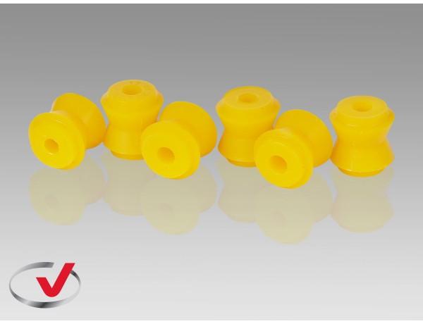 Втулка полиуретановая реактивной тяги ВАЗ 2101-07, 2121, 2123 (6 шт.) /малая/