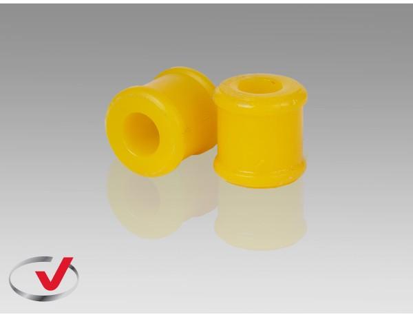 Втулка поліуретанова ВАЗ 2110, 2111, 2112 стійки стабілізатора FR (2 шт.) /верхня, I. D.=17mm/