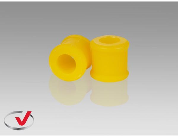 Втулка полиуретановая PRIORA, KALINA стойки стабилизатора FR (2 шт. /верхняя, I.D.=20mm/