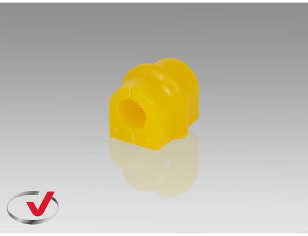 Втулка полиуретановая CHEVROLET AVEO T250,T255 (2003---)  1,6 L стабилизатора переднего /I.D.=17mm/