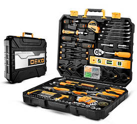 Набор инструментов DEKO DKMT168 для строителей, автослесарей, сантехников, для дома