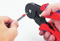 Кримпер HSC8-4A / клещи обжимные для наконечников 0.25- 6 мм (обжимка)