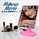 Косметическое зеркало для макияжа MAGIC MAKEUP MIRROR 22 LED поворотное с сенсорной кнопкой, фото 3