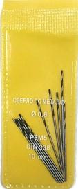 Сверла по металлу Werk HSS-R 0,8x10x30 10 шт