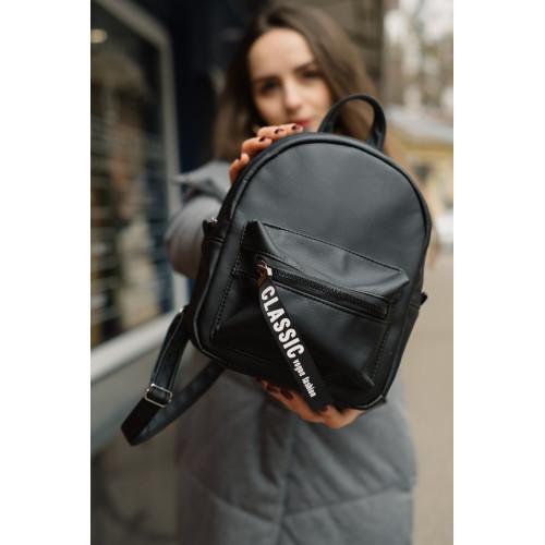 Женский рюкзак из экокожи Cambag Talari SLD черный