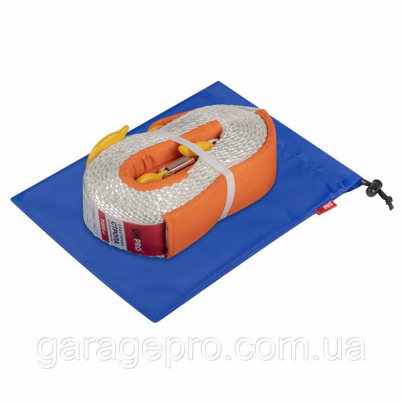 Грязезащитный мешок ORPRO для буксировочной стропы 25х35 см (Синий)