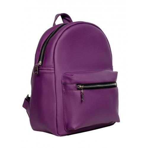 Рюкзак из экокожи Cambag Brix BSS фиолетовый