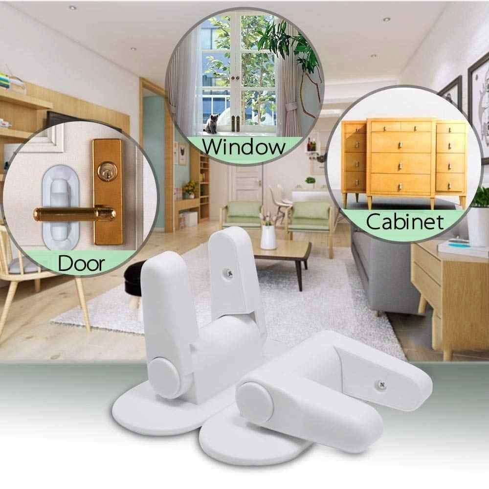Универсальный детский замок Door Lever Lock для ручек , 2шт в комплекте, универсальный, белый