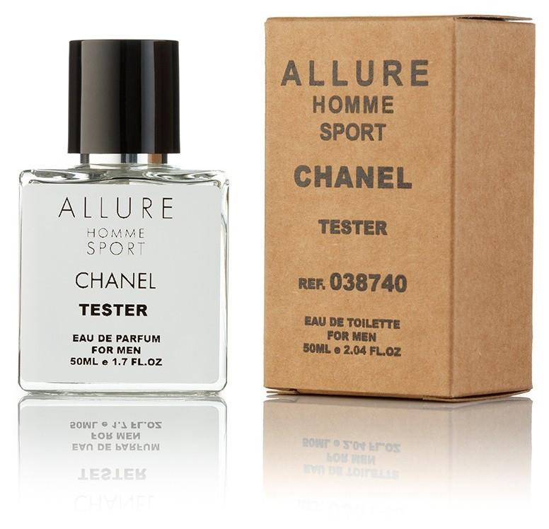 Туалетная вода мужская Chanel Allure Homme Sport 50 ml, Orign Tester, эко упаковка