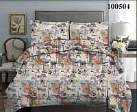 Комплект постельного белья бязь Париж-2 (Двуспальный)