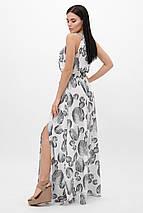 Женский летний длинный сарафан-макси с нежным принтом (Florentine-Florence fup), фото 3
