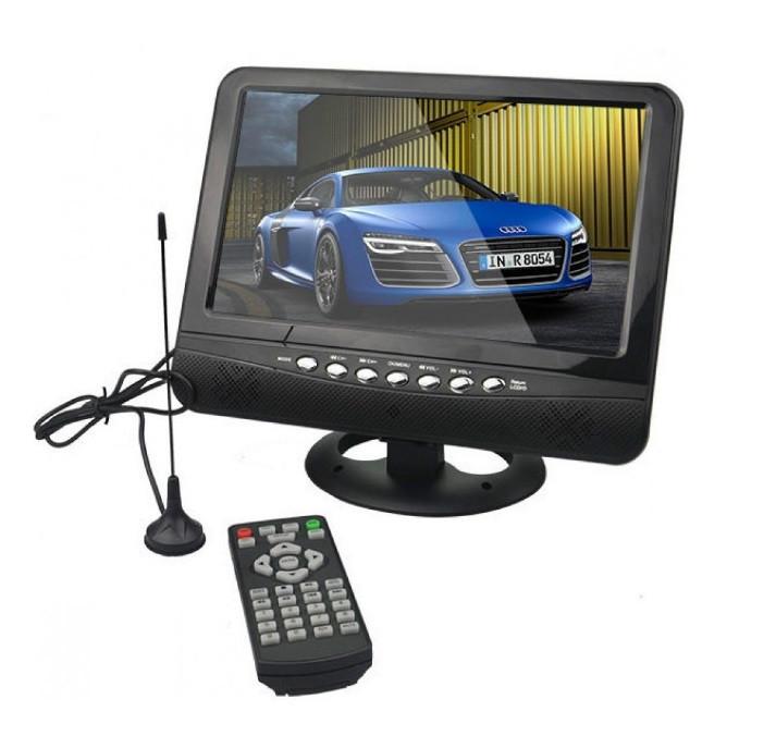 Портативный телевизор 13,8 дюймов OPERA NS-1001, с аккумулятором, 220/12V, Черный