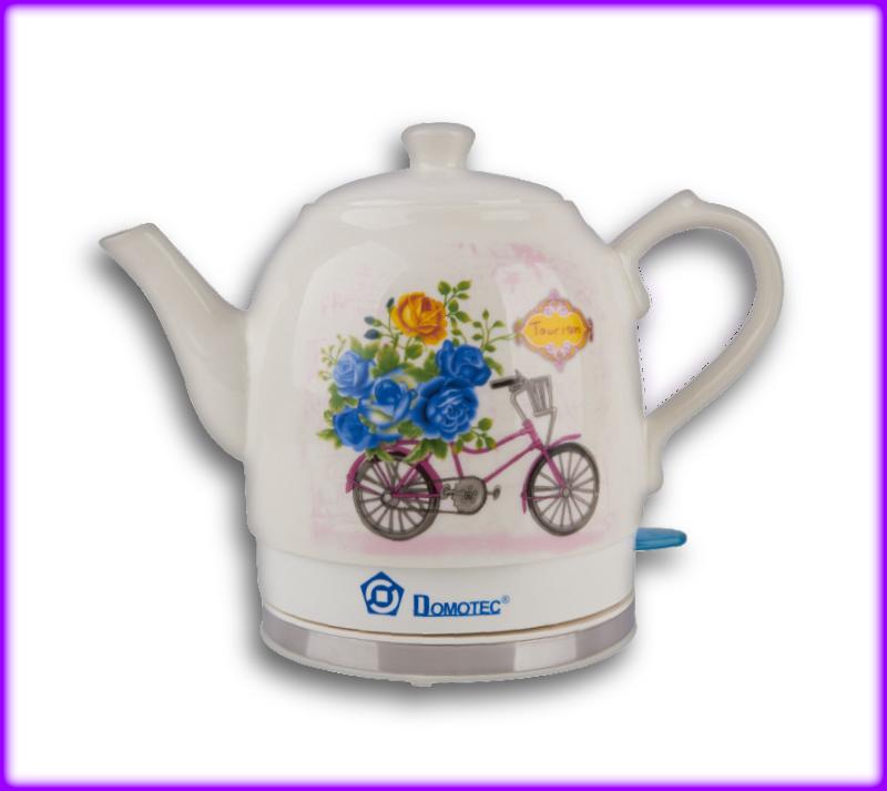 Электрический керамический чайник Domotec MS 5051 1.5 л