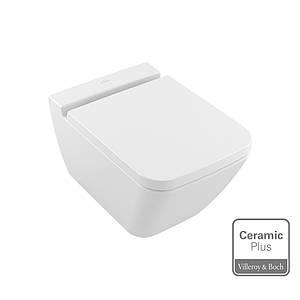 Унітаз підвісний VILLEROY&BOCH FINION Rimless Ceramic Plus 375x560