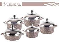 Набор посуды с крышками Lexical LG-141001-5