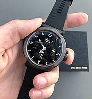 Умные Смарт часы, чоловічий годинник Smart Watch S18, мужские спортивные смарт-часы, черные