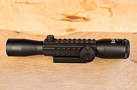 Приціл оптичний Bushnell 4x32E, постійна кратність, універсальне кріплення 11/21мм, з підсвічуванням сітки, фото 1