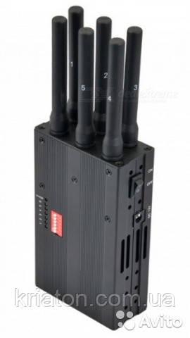 Блокатори радіочастот або ГЛУШИЛКИ