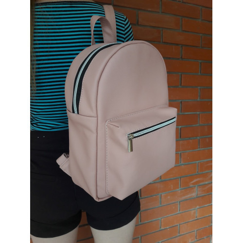 Женский рюкзак из экокожи Cambag Brix LE пудра