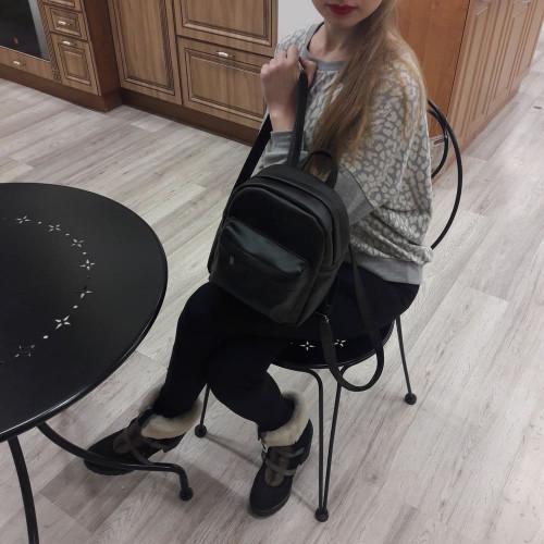 Женский рюкзак из экокожи Cambag Brix SB black