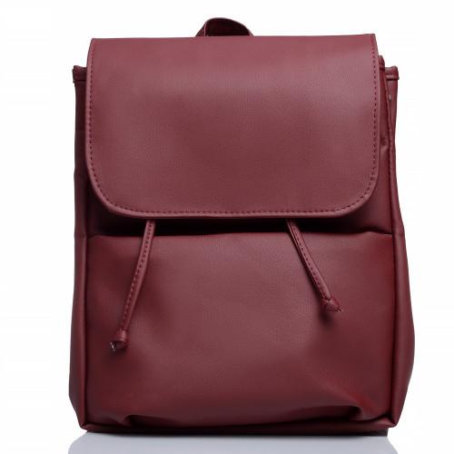 Женский рюкзак из экокожи Cambag Loft MEN бордо