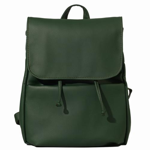 Женский рюкзак из экокожи Cambag Loft MEN зеленый