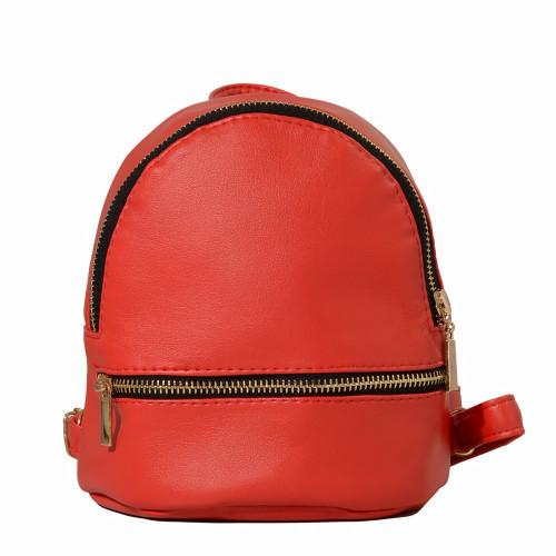 Женский рюкзак из экокожи Cambag Mane красный