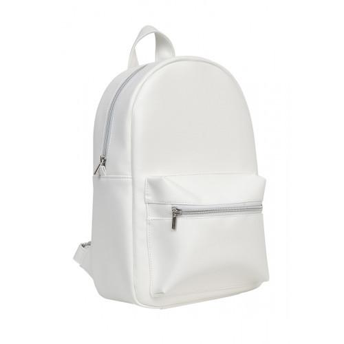 Рюкзак из экокожи Cambag Brix MSSP белый