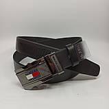 Шкіряний чоловічий ремінь/ Кожаный мужской ремень, фото 2