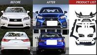 Рестайлинг комплект Lexus GS 2013-2015 г.в. в 2016+ стиль GS-F, фото 1