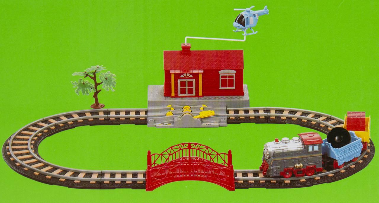 Детская железная дорога, 66х36 см, (9906)